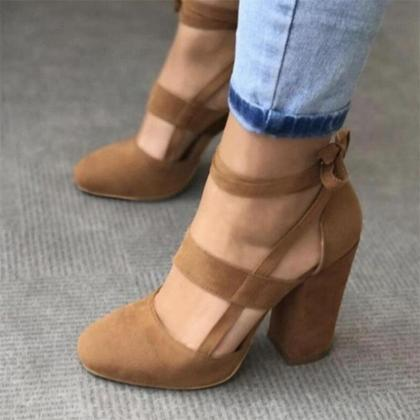 Sexy Gladiator High Heels Women Pum..