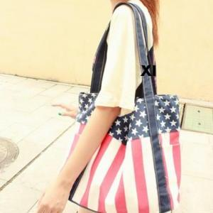 Fashion Usa Flag Handbag