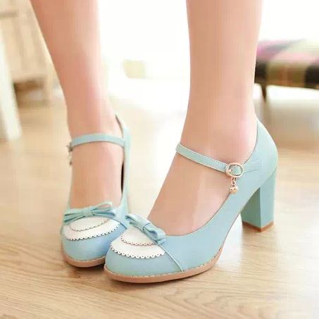 Cute Bow Lolita Shoes